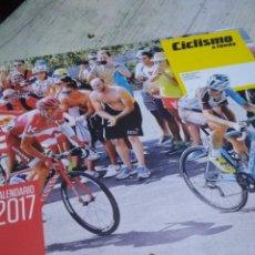 Coleccionismo deportivo: CALENDARIO DE CICLISMO. Lote 120458871