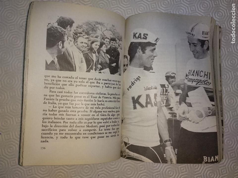 Coleccionismo deportivo: CICLO DE DOLOR. JOSE MANUEL FUENTE EL TARANGU.J.M. FUENTE Y J.L.ALVAREZ ZARAGOZA.SUMMA 1977. - Foto 3 - 120808134