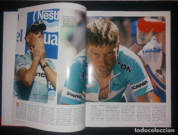 Coleccionismo deportivo: Libro. 100 jahre Tour de France (centenario Tour de Francia, 100 años). Lico Verlag, alemán, 2003 - Foto 2 - 189248402