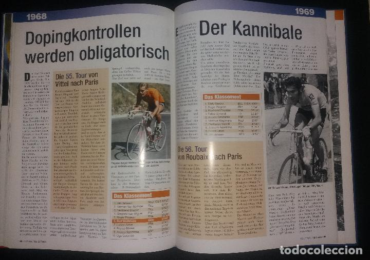 Coleccionismo deportivo: Libro. 100 jahre Tour de France (centenario Tour de Francia, 100 años). Lico Verlag, alemán, 2003 - Foto 3 - 189248402