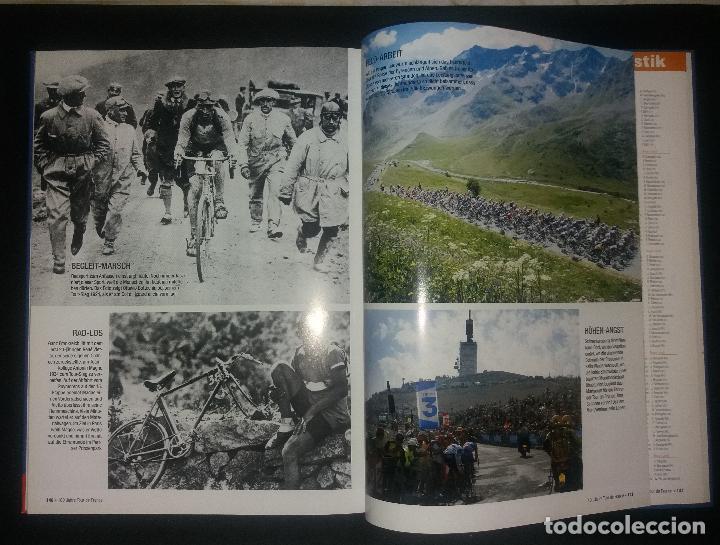 Coleccionismo deportivo: Libro. 100 jahre Tour de France (centenario Tour de Francia, 100 años). Lico Verlag, alemán, 2003 - Foto 4 - 189248402