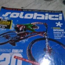 Coleccionismo deportivo: SOLO BIKE REVISTA DE CICLISMO. Lote 121073639