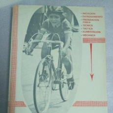 Coleccionismo deportivo: CICLISMO EN LA BASE JUAN CARLOS PEREZ EDITADO POR EL AUTOR EN 1980 FOTOGRAFIAS EN BLANCO Y NEGRO. Lote 121939495