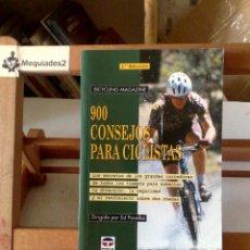 Coleccionismo deportivo: 900 CONSEJOS PARA CICLISTAS (NUEVO). Lote 122113595