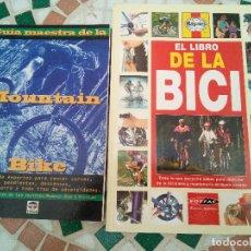 Coleccionismo deportivo: -TODO PARA TU BICICLETA-.PASEO O MOUNTAIN BIKE-MECANICA Y PILOTAJE-CLASICA Y MODERNA. Lote 125910787