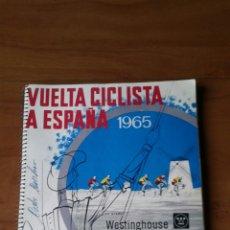Coleccionismo deportivo: LIBRO OFICIAL DE RUTA DE LA XX VUELTA CICLISTA A ESPAÑA 1965. Lote 126591716