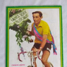 Coleccionismo deportivo: 100 AÑOS DE CICLISMO/FASCICULO Nº8/CONTRAPORTADA FAUSTO COPPI.. Lote 127141963
