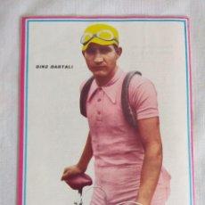 Coleccionismo deportivo: 100 AÑOS DE CICLISMO/FASCICULO Nº5/CONTRAPORTADA GINO BARTALI.. Lote 127142307
