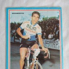 Coleccionismo deportivo: 100 AÑOS DE CICLISMO/FASCICULO Nº4/CONTRAPORTADA BAHAMONTES.. Lote 127142415