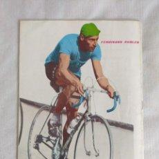 Coleccionismo deportivo: 100 AÑOS DE CICLISMO/FASCICULO Nº3/CONTRAPORTADA FERDINAD KUBLER.. Lote 127142519
