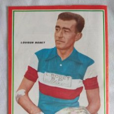 Coleccionismo deportivo: 100 AÑOS DE CICLISMO/FASCICULO Nº1/CONTRAPORTADA LOUISON BOBET.. Lote 127143075