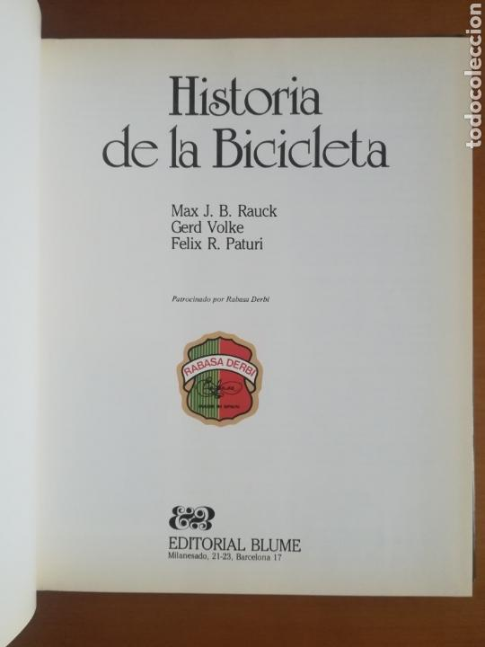 Coleccionismo deportivo: Historia de la bicicleta - Rabasa Derbi Ciclismo Bahamontes - Foto 11 - 129584572