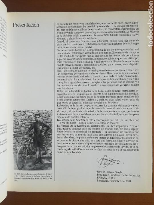 Coleccionismo deportivo: Historia de la bicicleta - Rabasa Derbi Ciclismo Bahamontes - Foto 13 - 129584572