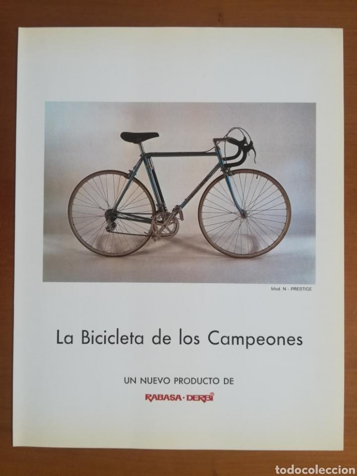 Coleccionismo deportivo: Historia de la bicicleta - Rabasa Derbi Ciclismo Bahamontes - Foto 38 - 129584572