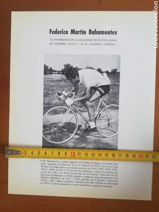 Coleccionismo deportivo: Historia de la bicicleta - Rabasa Derbi Ciclismo Bahamontes - Foto 39 - 129584572