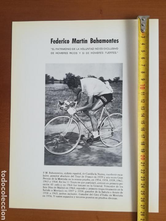 Coleccionismo deportivo: Historia de la bicicleta - Rabasa Derbi Ciclismo Bahamontes - Foto 40 - 129584572