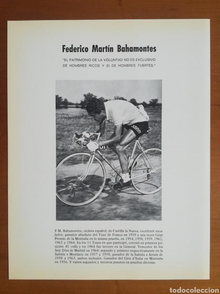 Coleccionismo deportivo: Historia de la bicicleta - Rabasa Derbi Ciclismo Bahamontes - Foto 36 - 129584572