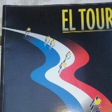 Coleccionismo deportivo: COLECCIONABLE TOUR DE FRANCIA 1995- EL PAIS.- 16 LAMINAS. 39 X 27 CM. Lote 132945234