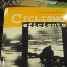 Coleccionismo deportivo: CICLISMO EFICIENTE (SANTIAGO DE CHILE, 1998). Lote 133577718