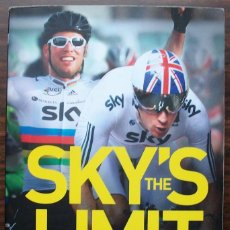 Coleccionismo deportivo: SKY'S THE LIMIT: CAVENDISH AND WIGGINS.RICHARD MOORE. Lote 136288970