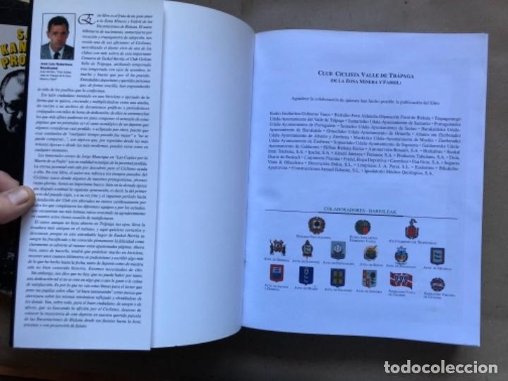 Coleccionismo deportivo: CLUB CICLISTA VALLE DE TRAPAGA ( DE LA ZONA MINERA Y FABRIL ) FUNDADO EN 1957. 592 PÁGINAS. - Foto 3 - 140688734