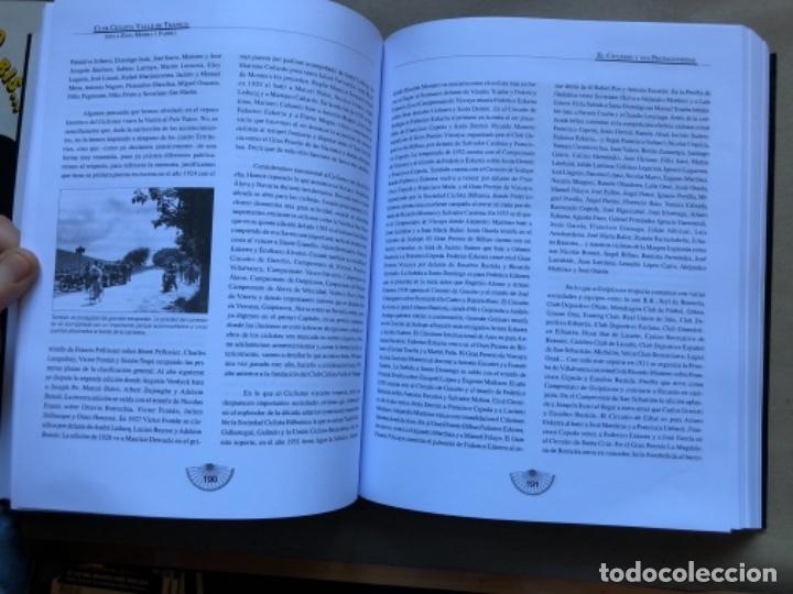 Coleccionismo deportivo: CLUB CICLISTA VALLE DE TRAPAGA ( DE LA ZONA MINERA Y FABRIL ) FUNDADO EN 1957. 592 PÁGINAS. - Foto 6 - 140688734