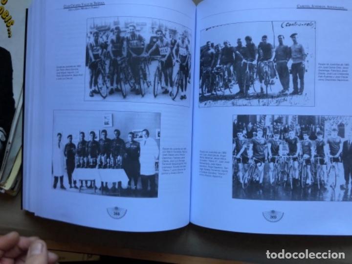 Coleccionismo deportivo: CLUB CICLISTA VALLE DE TRAPAGA ( DE LA ZONA MINERA Y FABRIL ) FUNDADO EN 1957. 592 PÁGINAS. - Foto 7 - 140688734