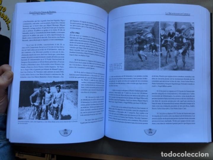 Coleccionismo deportivo: CLUB CICLISTA VALLE DE TRAPAGA ( DE LA ZONA MINERA Y FABRIL ) FUNDADO EN 1957. 592 PÁGINAS. - Foto 8 - 140688734