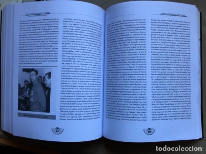 Coleccionismo deportivo: CLUB CICLISTA VALLE DE TRAPAGA ( DE LA ZONA MINERA Y FABRIL ) FUNDADO EN 1957. 592 PÁGINAS. - Foto 9 - 140688734