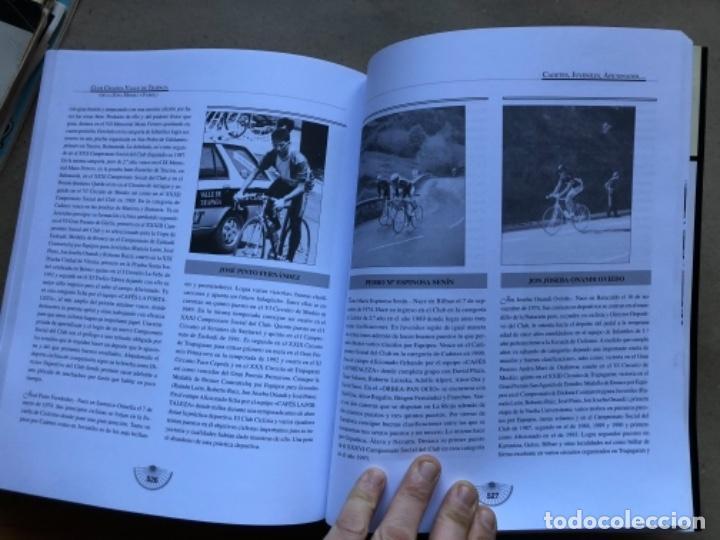 Coleccionismo deportivo: CLUB CICLISTA VALLE DE TRAPAGA ( DE LA ZONA MINERA Y FABRIL ) FUNDADO EN 1957. 592 PÁGINAS. - Foto 10 - 140688734