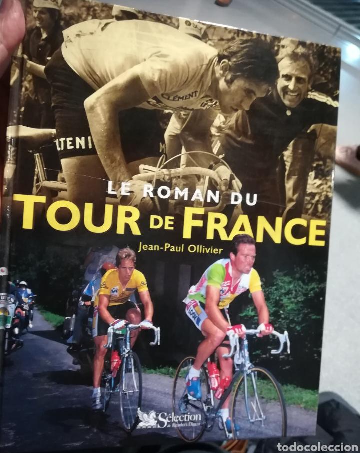 LA NOVELA DEL TOUR DE FRANCIA 1903-2001,JEAN PAUL OLIVIER. TAMAÑO 24X39 CMS. 2002 (Coleccionismo Deportivo - Libros de Ciclismo)