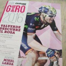 Coleccionismo deportivo: GUÍA CICLISMO A FONDO. Lote 142871614