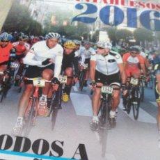 Coleccionismo deportivo: GUÍA CICLISMO A FONDO QUEBRATAHUESOS. Lote 142871698