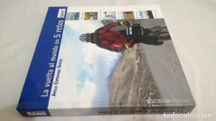 LA VUELTA AL MUNDO EN 5 RETOS/ APOLO ESPERANZA GARCIA/ GEO5 - CICLISMO CON CD (Coleccionismo Deportivo - Libros de Ciclismo)
