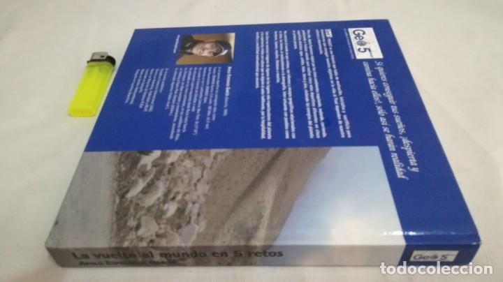 Coleccionismo deportivo: LA VUELTA AL MUNDO EN 5 RETOS/ APOLO ESPERANZA GARCIA/ GEO5 - CICLISMO CON CD - Foto 3 - 144404826