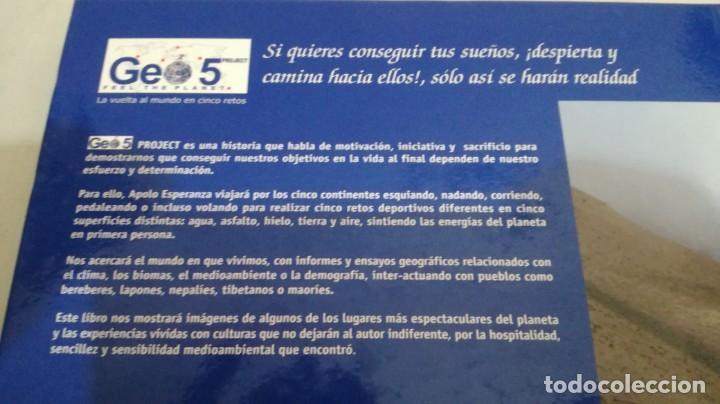 Coleccionismo deportivo: LA VUELTA AL MUNDO EN 5 RETOS/ APOLO ESPERANZA GARCIA/ GEO5 - CICLISMO CON CD - Foto 4 - 144404826