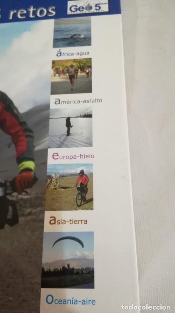 Coleccionismo deportivo: LA VUELTA AL MUNDO EN 5 RETOS/ APOLO ESPERANZA GARCIA/ GEO5 - CICLISMO CON CD - Foto 7 - 144404826