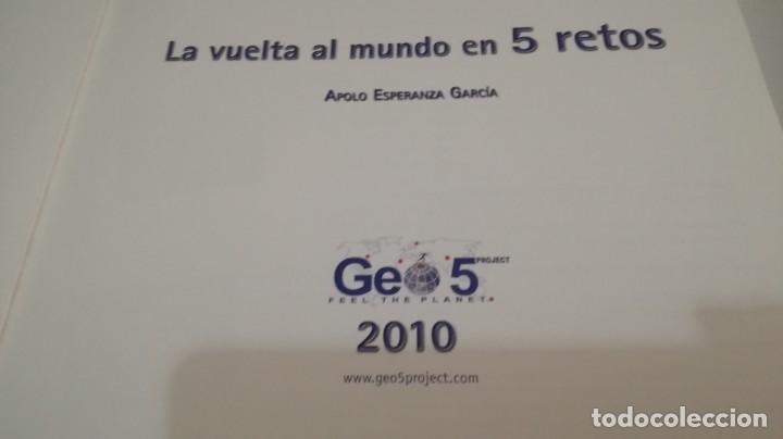 Coleccionismo deportivo: LA VUELTA AL MUNDO EN 5 RETOS/ APOLO ESPERANZA GARCIA/ GEO5 - CICLISMO CON CD - Foto 9 - 144404826