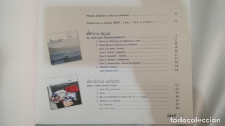 Coleccionismo deportivo: LA VUELTA AL MUNDO EN 5 RETOS/ APOLO ESPERANZA GARCIA/ GEO5 - CICLISMO CON CD - Foto 11 - 144404826