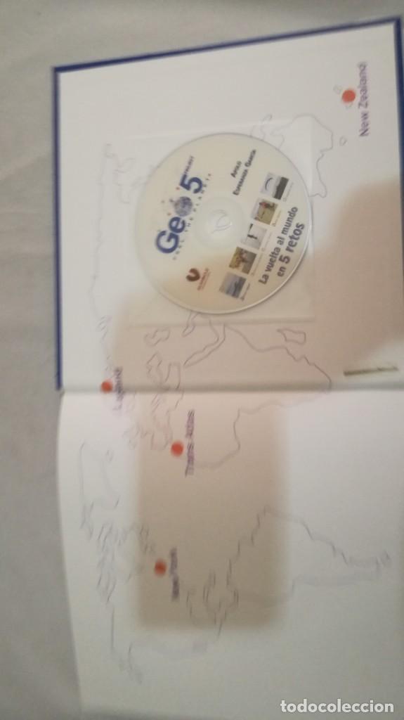 Coleccionismo deportivo: LA VUELTA AL MUNDO EN 5 RETOS/ APOLO ESPERANZA GARCIA/ GEO5 - CICLISMO CON CD - Foto 25 - 144404826
