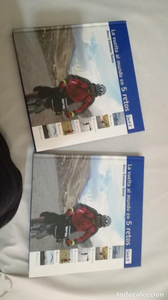 Coleccionismo deportivo: LA VUELTA AL MUNDO EN 5 RETOS/ APOLO ESPERANZA GARCIA/ GEO5 - CICLISMO CON CD - Foto 27 - 144404826