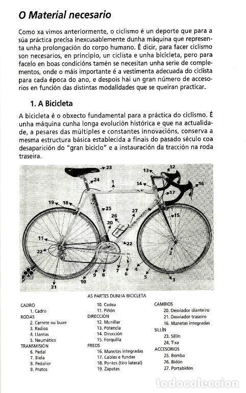 Coleccionismo deportivo: B1750 - INTRODUCCION AL CICLISMO. FERNANDO OTERO RAVIÑA. EN IDIOMA GALLEGO. XUNTA DE GALICIA. - Foto 2 - 145146450