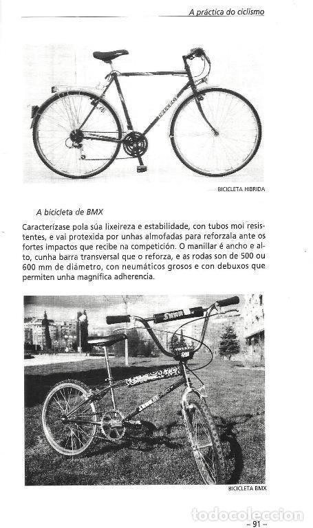 Coleccionismo deportivo: B1750 - INTRODUCCION AL CICLISMO. FERNANDO OTERO RAVIÑA. EN IDIOMA GALLEGO. XUNTA DE GALICIA. - Foto 4 - 145146450