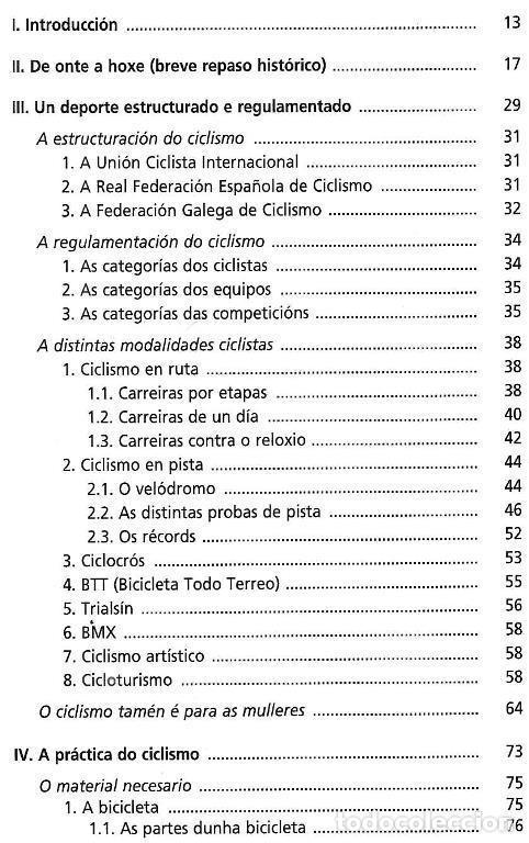 Coleccionismo deportivo: B1750 - INTRODUCCION AL CICLISMO. FERNANDO OTERO RAVIÑA. EN IDIOMA GALLEGO. XUNTA DE GALICIA. - Foto 8 - 145146450