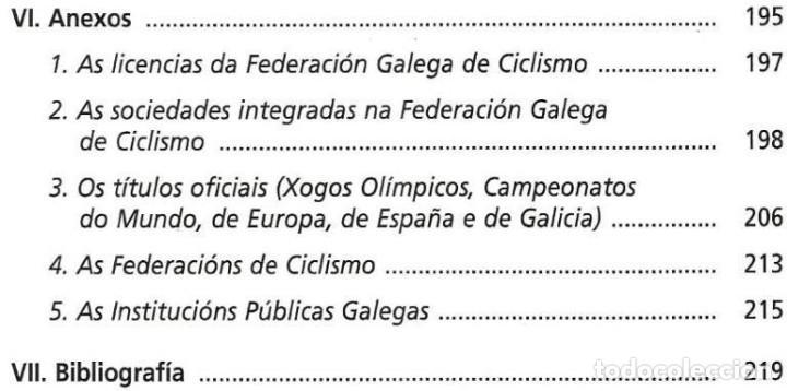 Coleccionismo deportivo: B1750 - INTRODUCCION AL CICLISMO. FERNANDO OTERO RAVIÑA. EN IDIOMA GALLEGO. XUNTA DE GALICIA. - Foto 10 - 145146450