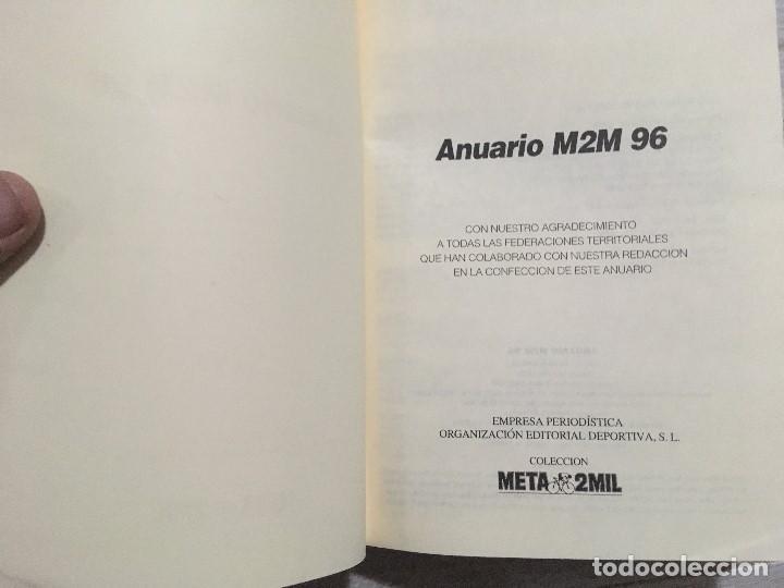 Coleccionismo deportivo: Ciclismo Anuario meta 2000 mil AÑO 1996 - M2M 96 - Foto 5 - 146482382