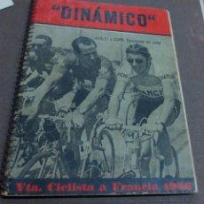 Coleccionismo deportivo: LA VUELTA CICLISTA A FRANCIA 1956 EDICIONES DEPORTIVAS DINÁMICO. Lote 146866138