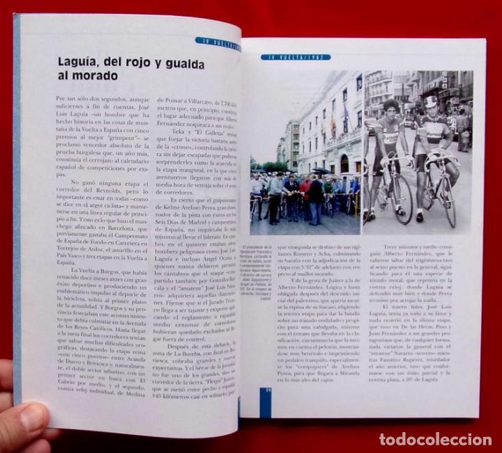 Coleccionismo deportivo: VUELTA A BURGOS. 1946 - 1995. MUY BUEN ESTADO. AÑO: 1996. CICLISMO. IÑAKI SAGASTUME - Foto 4 - 218815347
