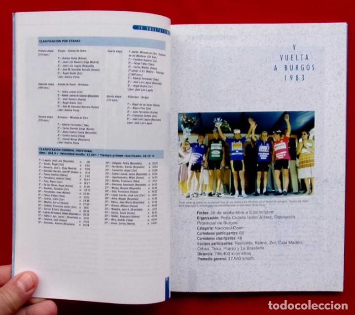 Coleccionismo deportivo: VUELTA A BURGOS. 1946 - 1995. MUY BUEN ESTADO. AÑO: 1996. CICLISMO. IÑAKI SAGASTUME - Foto 7 - 218815347
