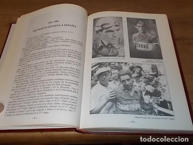 Coleccionismo deportivo: MALLORCA, LOS MALLORQUINES Y LA VUELTA CICLISTA A ESPAÑA. BERNARDO COMAS. MATEO FLAQUER. 1991. - Foto 7 - 149561550